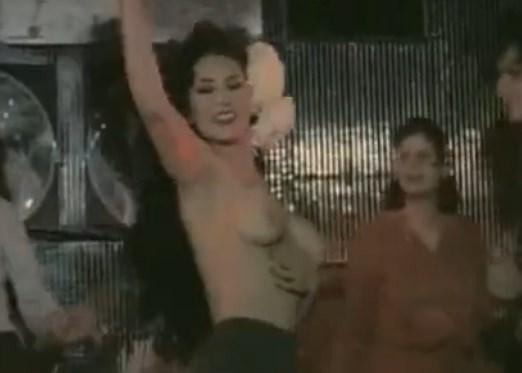 Vintage Haarige Muschi Striptease