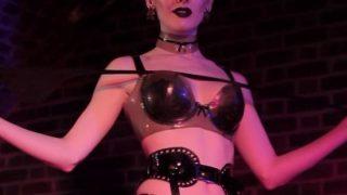 Striptease Models Fetish Stocking