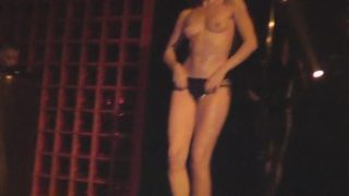 Striptease Acts On Stage