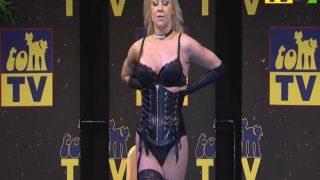 Sexy Strip Tease Alexa Diamond