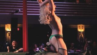 Women Strip Tease On Stage