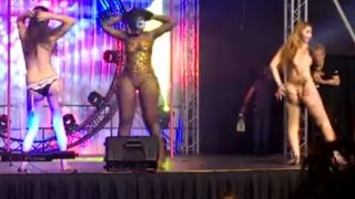 Nude Girls Contest Sexpo Strip Competition