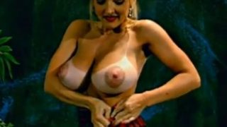 Striptease Hot Video Danni Ashe Of Her Schoolgirl Outfit
