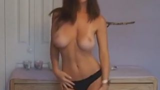 Hot Strip Dance Big Tit College Girl