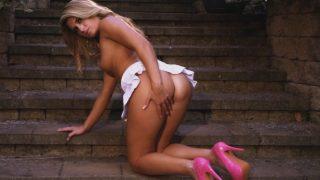 Best Strip Tease Video Hot Girl Removing Her Tennis Skirt