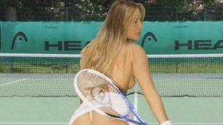 Striptese xxx Beautiful Sunny Day Playing Tennis With Natasha