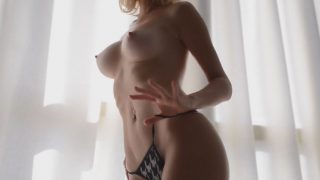 Sexy Striptease Video Hot And Classy Blond Girl