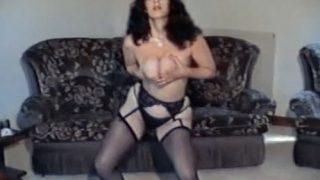Hot Strip Dance Girl Vintage Big Ass