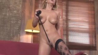 Free Striptease Video Watch Busty Blonde Babe Dorothy Black