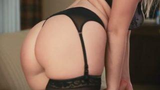 Striptease xxx Video Classic Lingerie Sexy Blond Jemma Valentine
