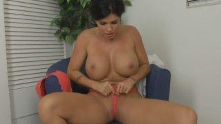 Sexy Striptease Video Watch Sexy Milf with Big Tits Shay Fox