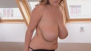 Sexy Striptease Watch Busty Czech Krystal Swift Sweet Natural Boobs