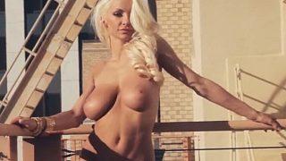 Strip Tease Nude Watch Playboy Model Lindsey Pelas Huge Breasts