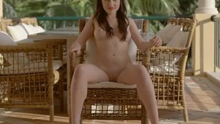 Striptease Video Watch International Model Serena Wood Posing Naked