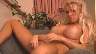 Striptease Video Watch Busty Blonde Shyla Stylez Exposing Naked