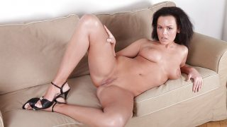Girl Striptease Watch Delicate Beauty Euro Model Linet Slag Nude