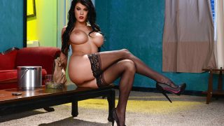 Striptease Nude Watch Big Tit Brunette Peta Jensen In Heels Toying Her Twat