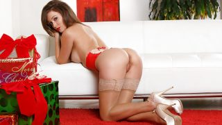 Streaptease xxx Watch Adorable Brunette Malena Morgan Teasing Her Slit