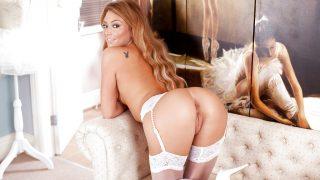 Striptease Video Watch Long Legged Slut Natalia Forrest Stretching Cunt