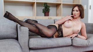 Sexy Strip Watch Busty Milf Yasmine Scott In Lingerie Revealing Big Boobs