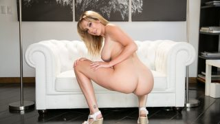 Striptease Videos Watch Stunning Blonde Brett Rossi In Heels Fingering Twat