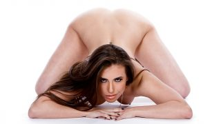 Hot Striptease Watch Leggy Brunette Pornstar Casey Calvert Spread Her Pussy