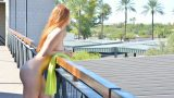 Striptease Babes Watch Solo Redhead Teen Farrah Flower Spreading Vagina