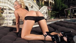 Striptease Girl Watch Blonde Petite Model Lena Nicole Teasing Sweet Pussy