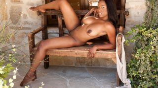 Playboy Striptease Watch Thick Black Chick Monique Moore Gets Nude