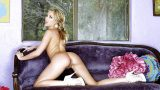 Striptease Babes Watch Graceful Milf Sarah Peachez Revealing Her Pink Cunt