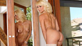 Sexy Strip Videos Watch Blonde Milf Jana Cova In Lingerie Teasing Pussy