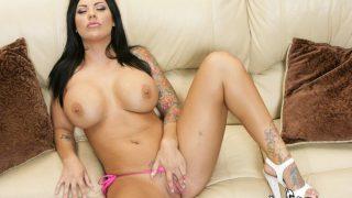 Bikini Striptease Watch Tattooed Busty Babe Mason Moore Amazing Boobs