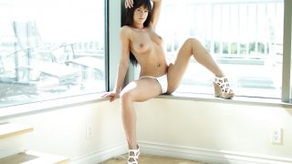 Video Striptease Watch Brunette Solo Chick Rahyndee James Masturbating