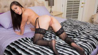 Naked Striptease Watch Sweet Babe Alina Lopez In Lingerie Teasing