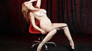 Striptease Video Watch Big Boobed Solo Milf Julia Ann Expose Bald Muff