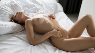 Sexy Strip Tease Watch Glamorous Centerfold Diana Lark Poses Nude