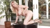 Busty Striptease Watch Big Tit Blonde Milf Julia Ann Finger Her Snatch