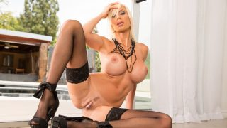 Strip Tease xxx Watch Busty Milf Puma Swede Showing Pink Twat