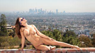 Hot Girl Stripping Watch Playboy Pretty Babe Carlie Christine Gets Nude