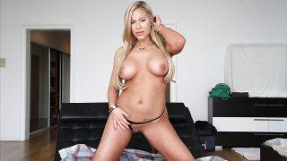 Strip Tease Sexy Watch Busty Blonde Milf Olivia Austin Teasing Snatch