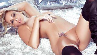 Striptease Video Watch Stunning Blonde Jenni Lynn Luscious Curves