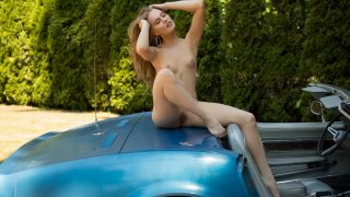 Hot Girl Striptease Watch Playboy Babe Maija Riika Posing Nude