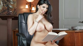 Big Tits Striptease Watch Erotic Babe Romi Rain Fingers Her Snatch