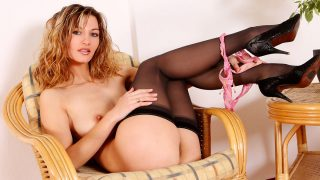 Perfect Striptease Watch Adorable Lovely Vanessa Fingers Her Muff