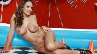 Girls Stripping Naked Watch Busty Trina Michaels Shows Her Big Tits