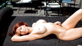 Striptease Babe Watch Redhead Hottie Alyssa Michelle Naked Poses