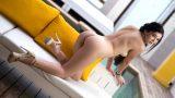 Sexy Girl Strip Brunette Playboy Hottie Malena Gets Nude