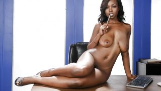 Sexy Ebony Strip Tease Watch Leggy Jezabel Vessir