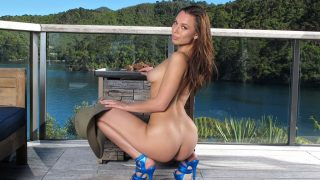 Gorgeous Woman Solo Striptease Watch Aidra Fox