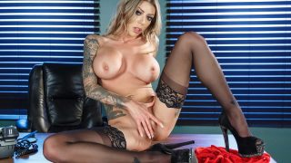 Busty And Tattooed Slut Karma Rx Strip Tease Video